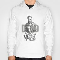 rick grimes Hoodies featuring Rick Grimes The Walking Dead by Mark McKenny