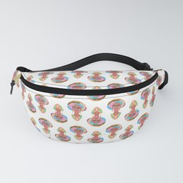 Colorful African Woman Fanny Pack