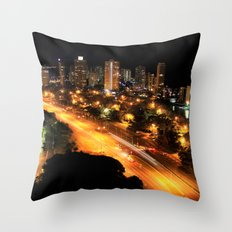 Gold Coast Highway Throw Pillow