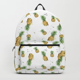 Small Pineapple Pattern Backpack