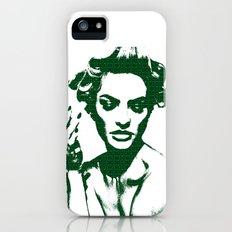 Smoke: Candice Swanepoel iPhone (5, 5s) Slim Case