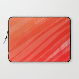 warm colors orange and red abstract Laptop Sleeve