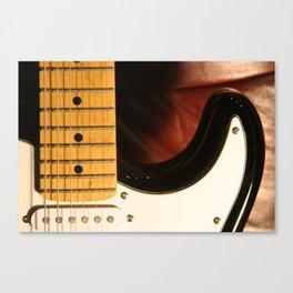 Guitar Neck Canvas Print