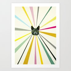 Cat's Eyes Art Print