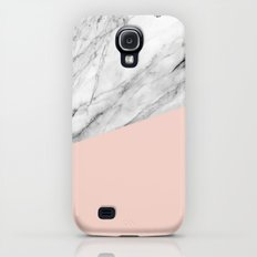 Marble and pale dogwood color Galaxy S4 Slim Case
