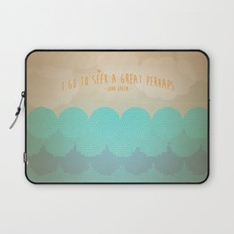 """""""A Great Perhaps"""" Laptop Sleeve"""