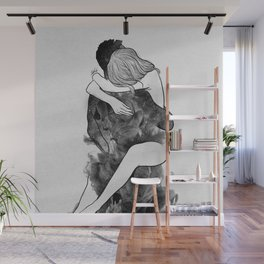I find peace in your hug (E). Wall Mural