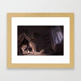 Where Somebody Waits For Me Framed Art Print