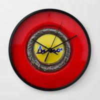 ferrari Wall Clocks featuring Ferrari Dino by Rainer Steinke