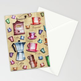 Coffee time! 2.0 Stationery Cards