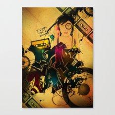 I made you a Mixtape Canvas Print