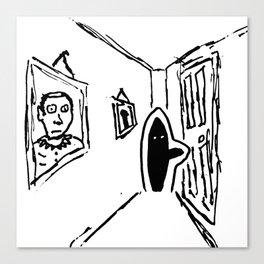 Shadow Person Canvas Print