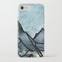 mountain iPhone & iPod Cases featuring Mountain by madbiffymorghulis