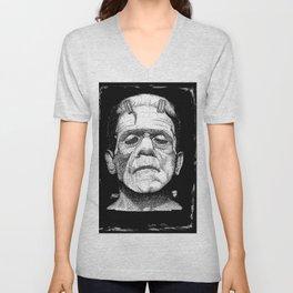 Frankensteins Monster Unisex V-Neck