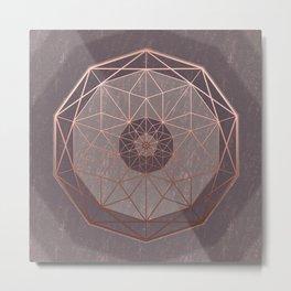 Geodis Magic Stone Metal Print
