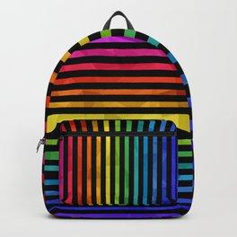 BLACK + RAINBOW Backpack