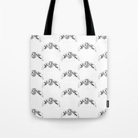 maine Tote Bags featuring Maine by Natalie Oliver