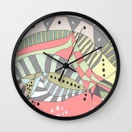 DOODLE DESIGNS / ORIGINAL DANISH DESIGN bykazandholly  Wall Clock