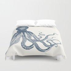 Offset Octopus Duvet Cover