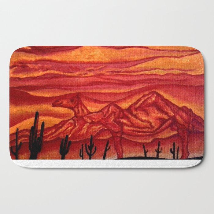 Camelback Mountain Phoenix, AZ Bath Mat