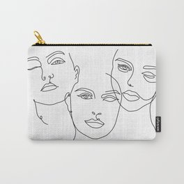 Three Sins Carry-All Pouch