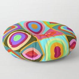 Kandinsky #20 Floor Pillow