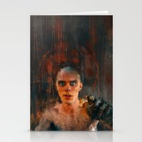 mad max Stationery Cards featuring Nux Mad Max by Wisesnail