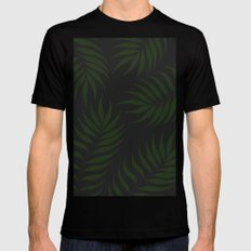 JUNGLE THEAM Black MEDIUM Mens Fitted Tee