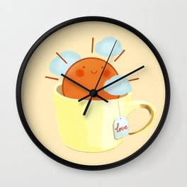 Good Morning Dear Sun Wall Clock