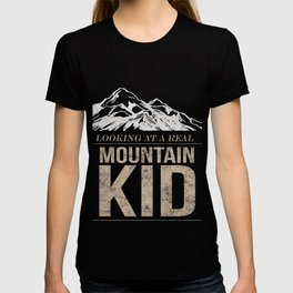 Funny Mountain kid for campers T-shirt