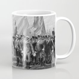 Surrender Of Cornwallis At Yorktown Coffee Mug