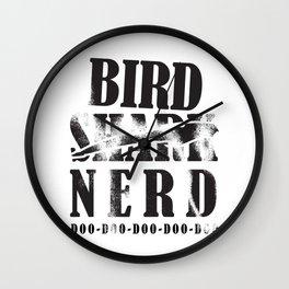 Bird Native Bird Songbird Nerd Gift Wall Clock