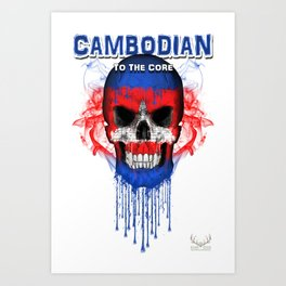 To The Core Collection: Cambodia Art Print
