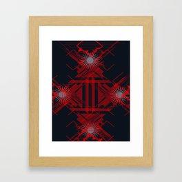 RoguePattern Framed Art Print