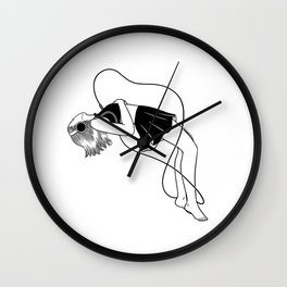 Listen to your inner voice Wall Clock