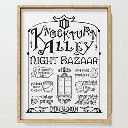 Knockturn Alley Night Bazaar Serving Tray