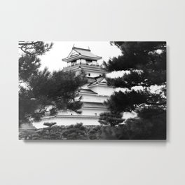 Japanese Castle Metal Print