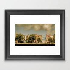 Dublin by Day Framed Art Print