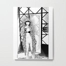 asc 526 - L'entracte (The party break) Metal Print