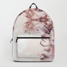 MARSALA KALEIDOSCOPE SPLASH 01 Backpack