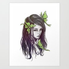 My Insect Life Art Print