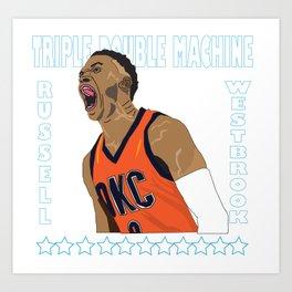 Russ For MVP Art Print