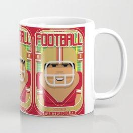 American Football Red and Gold - Enzone Puntfumbler - Seba version Coffee Mug