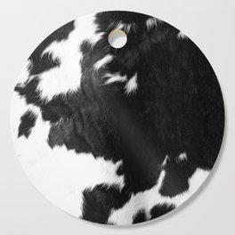 Modern Cowhide Cutting Board
