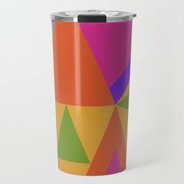 Triangle Rainbow Travel Mug