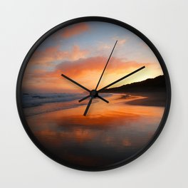 Sunrise Reflection Wall Clock