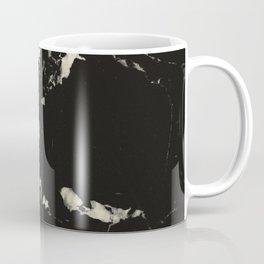 Black Marble and Blush Yellow #1 #decor #art #society6 Coffee Mug