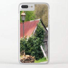 Old Barn Clear iPhone Case