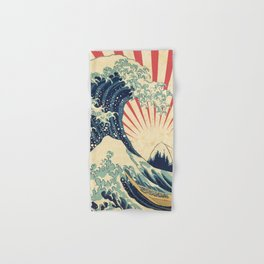 The Great Wave in Rio Hand & Bath Towel