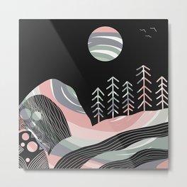 Night Mystery Metal Print
